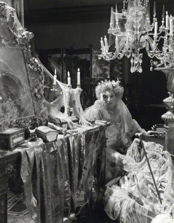 Miss Havisham, the jilted bride.