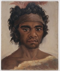 The portrait purchased by the Mitchell Library.