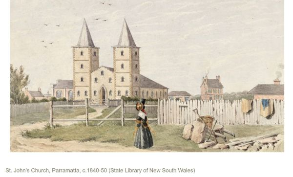 St Jon's Church Parramatta