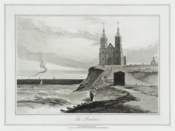 The Reculvers by William Daniell