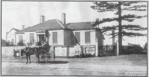 Camperdown Lodge, the home of Eliza Donnithorne.