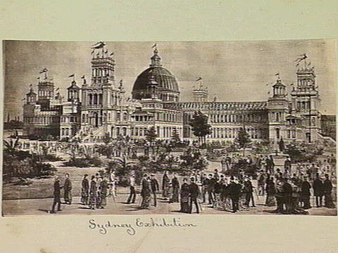 Sydney International Exhibition, where the Macquarie miniatures were exhibited.