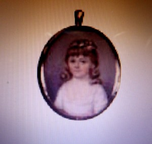 Henrietta Meredith, aged about four.