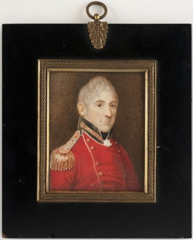 Miniature of Lachlan Macquarie ( Courtesy Library of NSW)