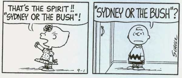 SYDNEY OR THE BUSH