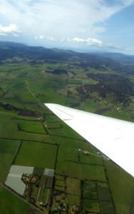 That's Tasmania way down there.