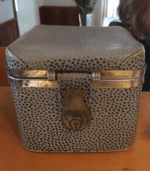 1950s handbag that belonged to my  grandmother Alice.