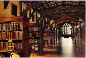 Duke Humfrey Room at Bodleian Library