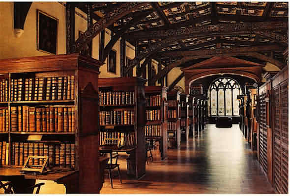 Duke Humfrey Room at Bodleian Library. My research here was a dream come true.