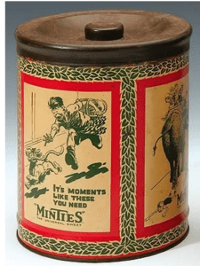 Minties for the Aussie troops in WWII