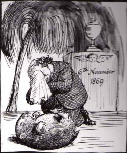 Rossetti and his dead wombat.