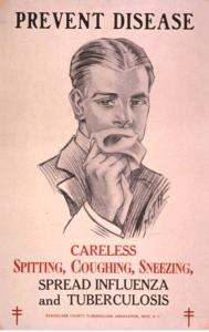Tuberculosis poster 1920's