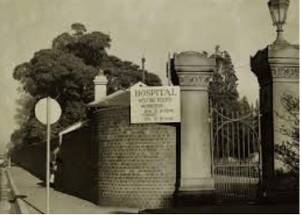 Gates of Callan Park Asylum