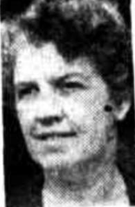 Miss Joyce Cocks