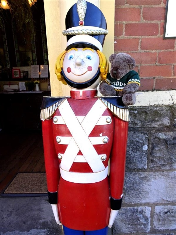 Guard at Gingerbread House
