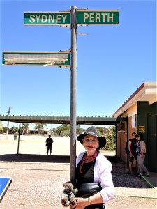Pauline Conolly at Cook in the Nullabor