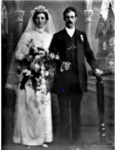 George Morris and his wife Priscilla, 1903