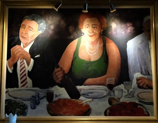 Painting at Ivanhoe Hotel, Blackheath