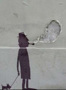 Witty street art