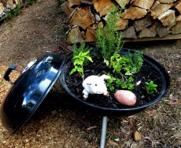 Wber herb garden