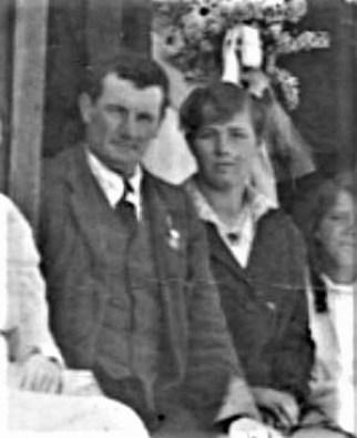 Arthur and Elizabeth Singleton 1918