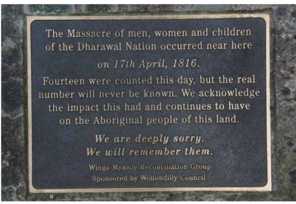 Memorial Plaque at Appin
