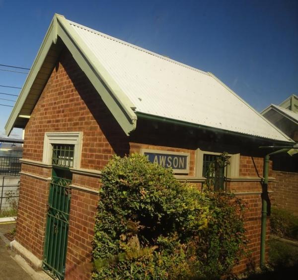 Lawson Railway Station Building