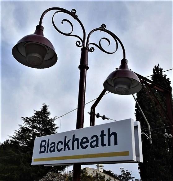 Blackheath railway station in the Blue Mountains