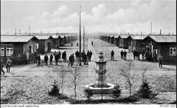Dulmen Internment Camp