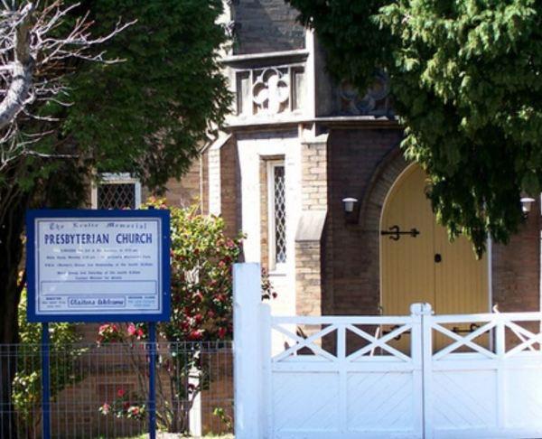 Presbyterian Church at Blackheath.