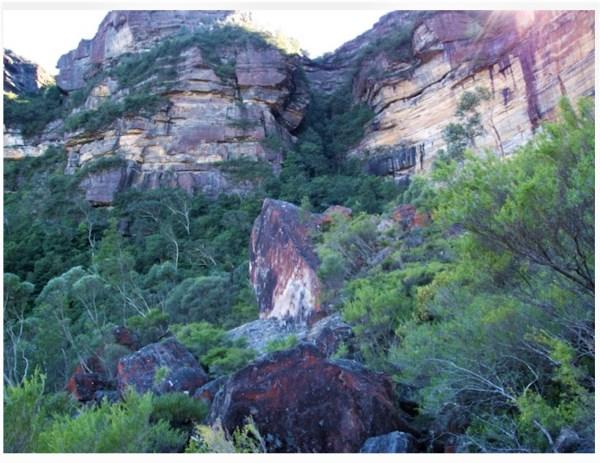 Dogface Rock Katoomba