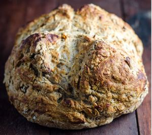 Acacia  seed soda bread
