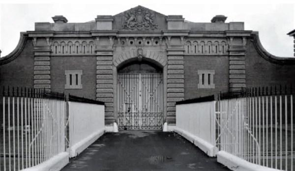 The gates of Goulburn Gaol.