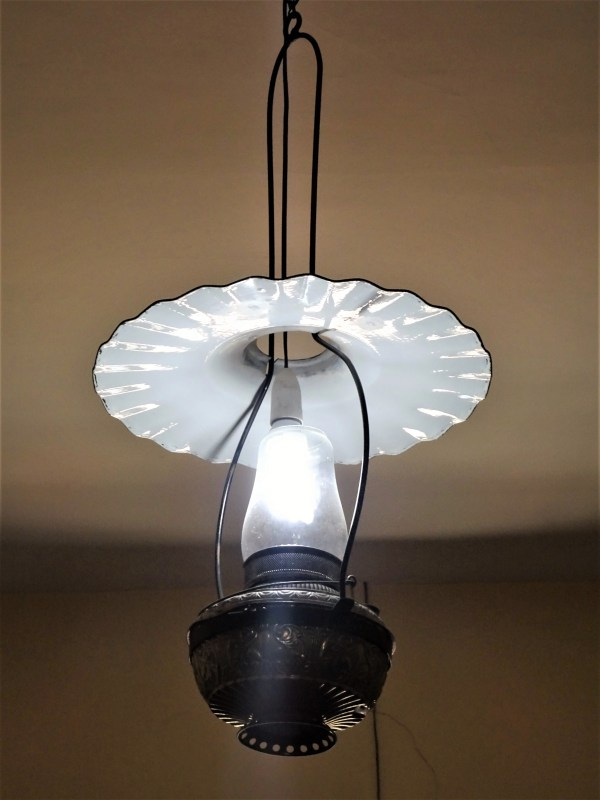 Light fitting at Eskbank House Museum in Lithgow