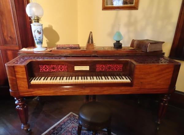 Piano from Eskbnk House Lithgow