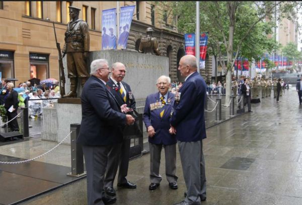 Martin Place Remembrance Day 2017