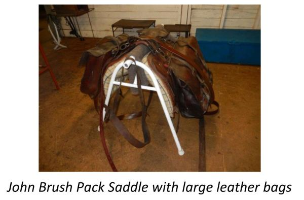 John Brush Pack Saddle