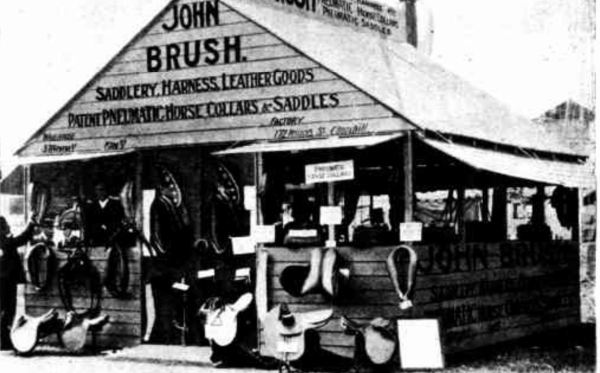 John Brush Royal Sydney Show Exhibit