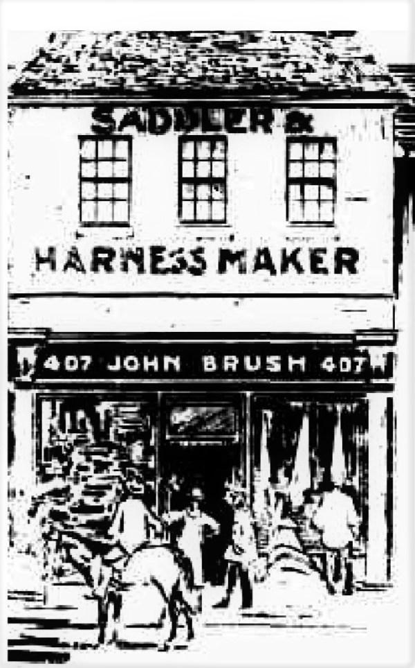John Brush saddlery in Sydeny