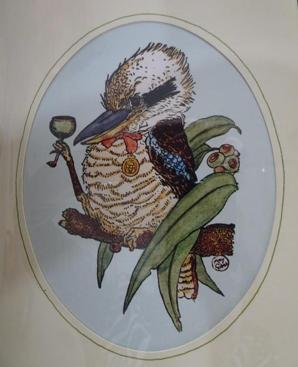 Christmas tipple for a kookaburra