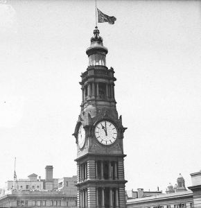 G.P.O. Clock Sydney Remembrance Day 1936
