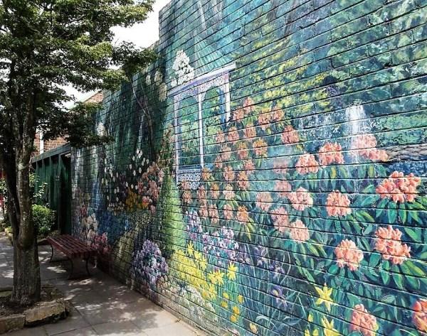 Mural at Leura.