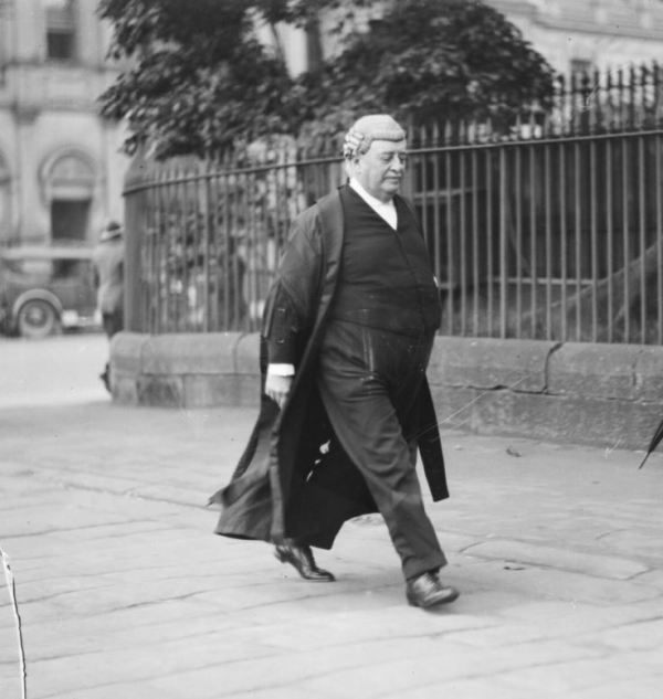Barrister John Wentworth Shand defended Fleming  in the cyanide poisoning trial.