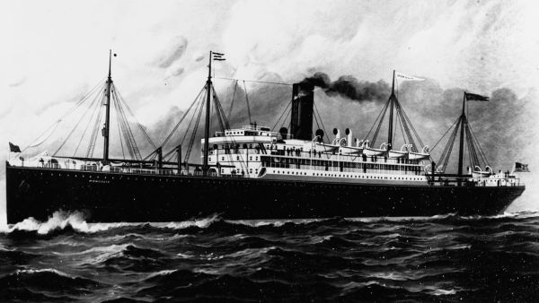 The mail ship SS Mongolia