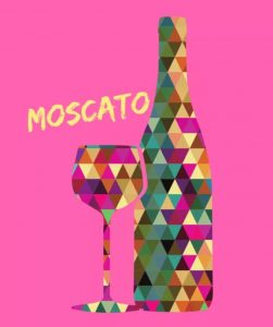 Moscato, an Italian treat.
