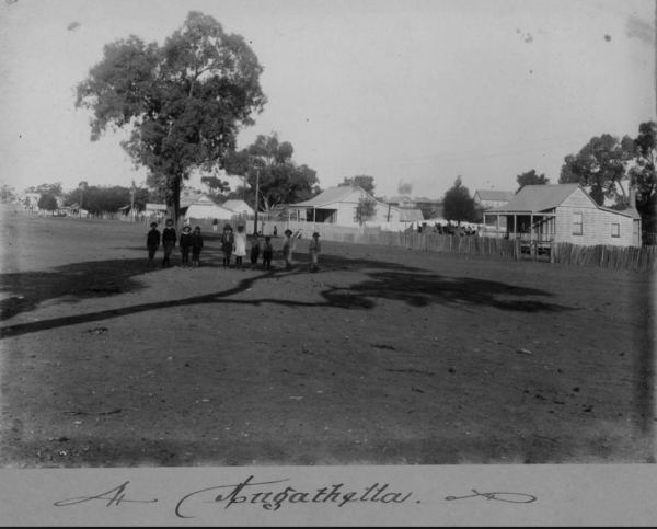 Early image of  the town where  a hotel owner died from strychnine .