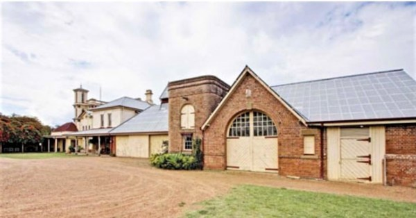 The stables at Baroona, where the champion horse Peter Pan was foaled