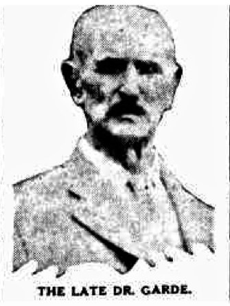 Dr Henry Croker Garde
