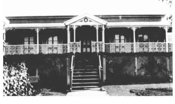 Dr. H.C. Garde's House at Maryborough