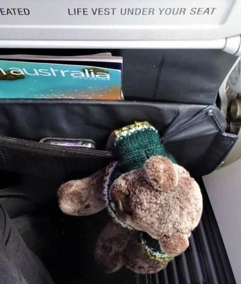 One the plane. Next stop Kakadu.